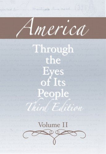 America Through the Eyes of Its People  3rd 2006 (Revised) edition cover