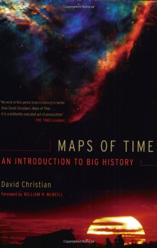 Maps of Time An Introduction to Big History  2004 edition cover