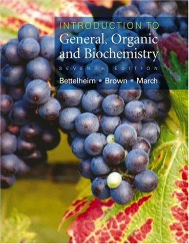 Introduction to General, Organic and Biochemistry  7th 2004 edition cover