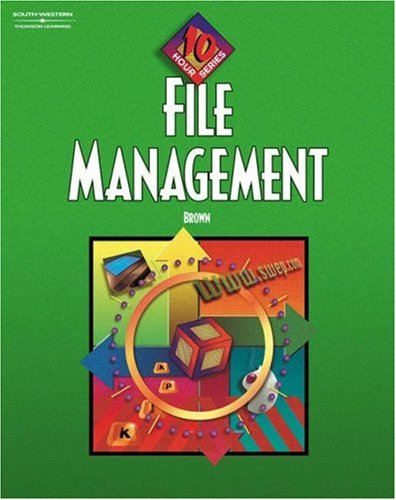 File Management   2002 9780538432764 Front Cover