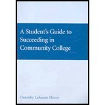 Student's Guide to Succeeding at Community College  11th 2007 9780618903764 Front Cover