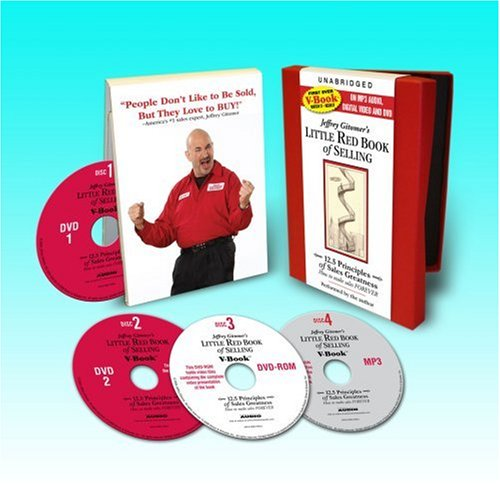 The Little Red Book of Selling V-Book: 12.5 Principles of Sales Greatness  2008 edition cover