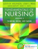 Fundamentals of Nursing - Vol 2 Thinking, Doing, and Caring 3rd 2016 (Revised) 9780803640764 Front Cover