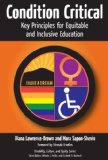Condition Critical Key Principles for Equitable and Inclusive Education  2013 edition cover