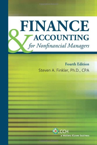 Finance and Accounting for Nonfinancial Managers with CD 2011  N/A edition cover