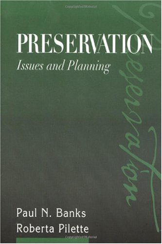 Preservation Issues and Planning  2000 edition cover
