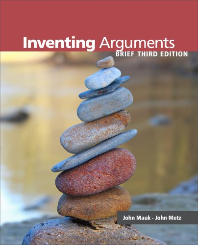Inventing Arguments, Brief  3rd 2013 edition cover