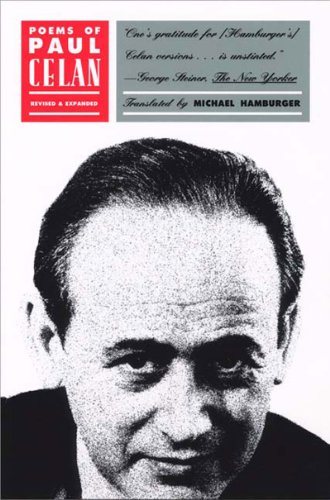 Poems of Paul Celan   2002 (Revised) edition cover