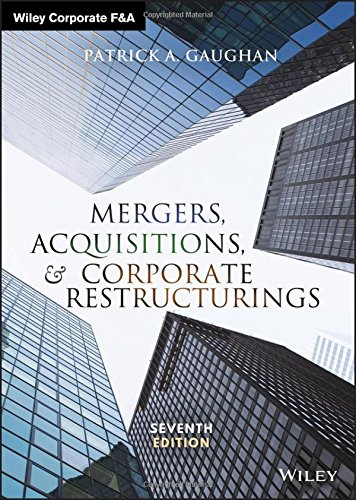 Mergers, Acquisitions, and Corporate Restructurings  7th 2018 9781119380764 Front Cover