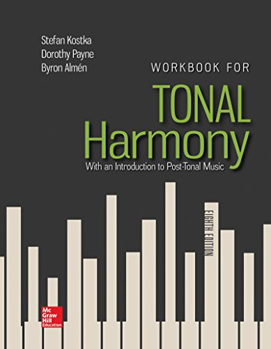Workbook for Tonal Harmony:   2017 9781259686764 Front Cover