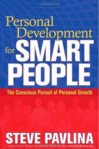 Personal Development for Smart People The Conscious Pursuit of Personal Growth  2008 edition cover