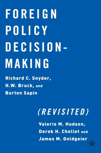 Foreign Policy Decision Making   2002 (Revised) edition cover