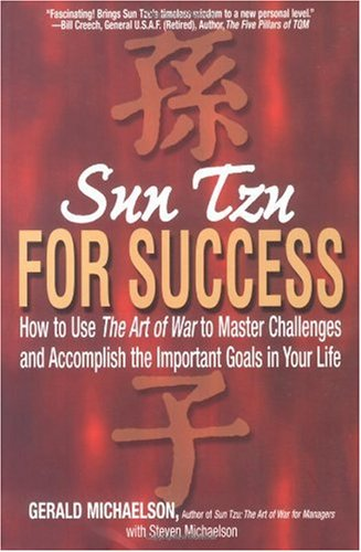 Sun Tzu for Success How to Use the Art of War to Master Challenges and Accomplish the Important Goals in Your Life  2003 edition cover