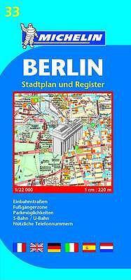 BERLIN 1: 22 000 STADTPLAN UND REGISTER  2006 9782067116764 Front Cover