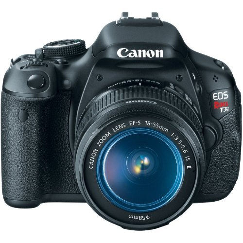 Canon EOS Rebel T3i 18 MP CMOS Digital SLR Camera and DIGIC 4 Imaging with EF-S 18-55mm f/3.5-5.6 IS Lens product image