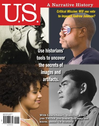 U. S. A Narrative History 6th 2012 edition cover