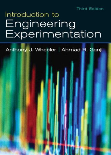 Introduction to Engineering Experimentation  3rd 2010 edition cover