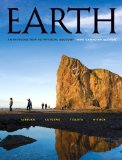 Earth An Introduction to Physical Geology 3rd 2012 9780137047765 Front Cover