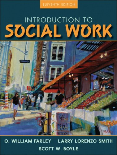 Introduction to Social Work  11th 2009 edition cover