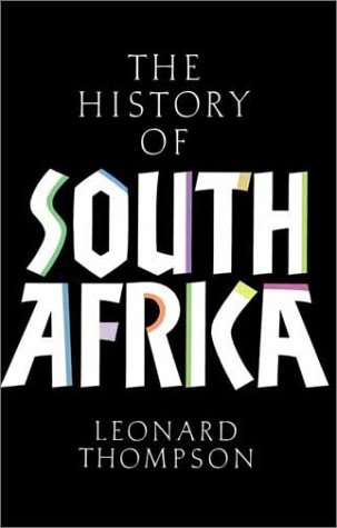 History of South Africa  3rd 2001 edition cover