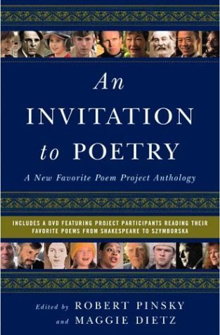 Invitation to Poetry A New Favorite Poem Project Anthology  2004 edition cover