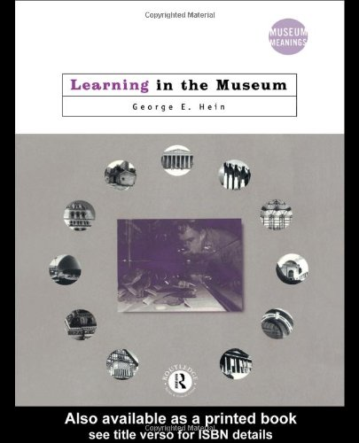 Learning in the Museum   1998 edition cover