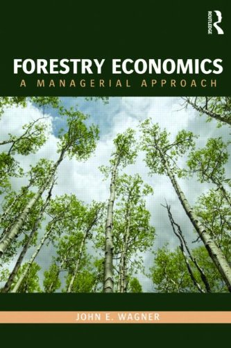 Forestry Economics A Managerial Approach  2011 edition cover