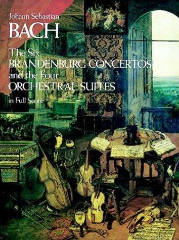 Six Brandenburg Concertos BWV 1046-1051  Reprint edition cover