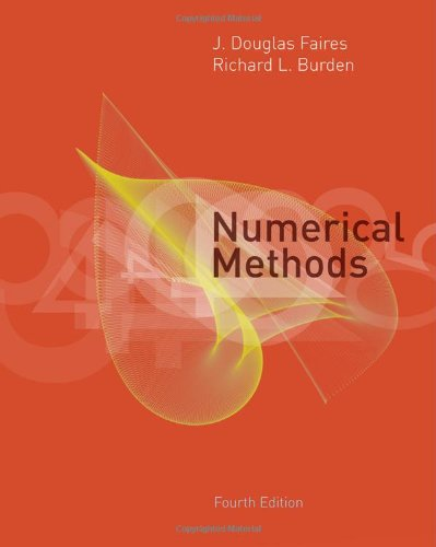 Numerical Methods  4th 2013 edition cover