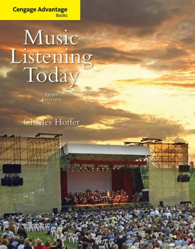 Music Listening Today  3rd 2009 (Revised) edition cover