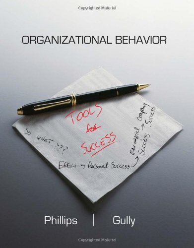Organizational Behavior Tools for Suucess  2012 edition cover