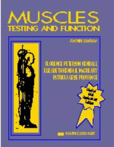 Muscles Testing and Function 4th 1993 (Revised) edition cover