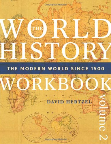 World History Workbook The Modern World since 1500  2009 edition cover