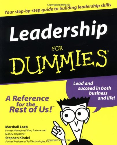 Leadership for Dummies�   1999 edition cover