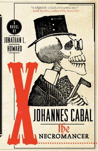 Johannes Cabal the Necromancer   2009 edition cover