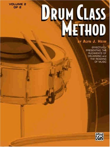 Drum Class Method, Vol 2   1985 edition cover