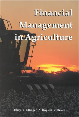 Financial Management in Agriculture  6th 2000 edition cover