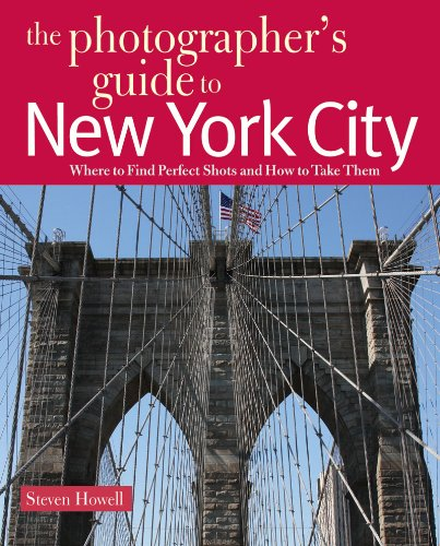 Photographer's Guide to New York City  N/A 9780881508765 Front Cover