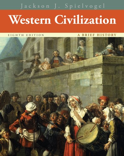 Western Civilization  8th 2014 edition cover