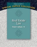 Real Estate Law:   2014 edition cover