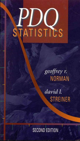 PDQ Statistics  2nd 1999 edition cover