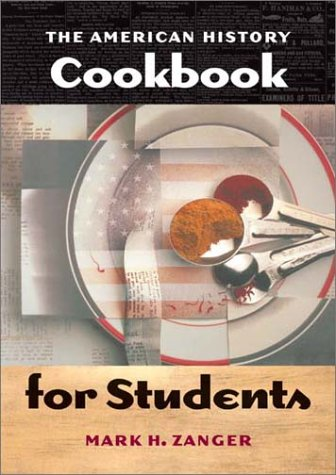 American History Cookbook for Students   2002 edition cover