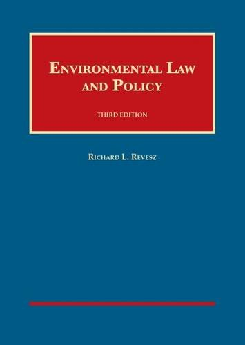 Environmental Law and Policy, 3d  3rd 2015 edition cover