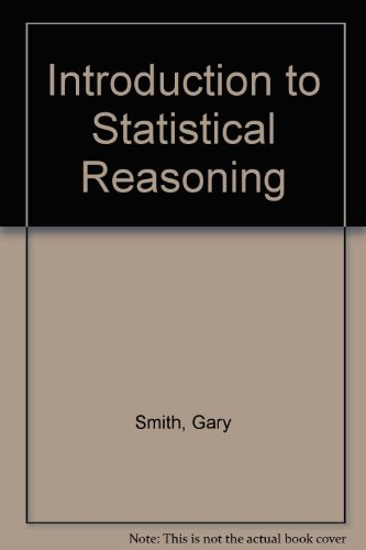 Introduction to Statistical Reasoning   1998 edition cover