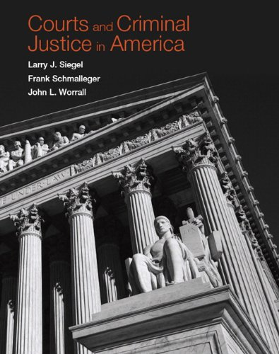 Courts and Criminal Justice in America   2011 edition cover