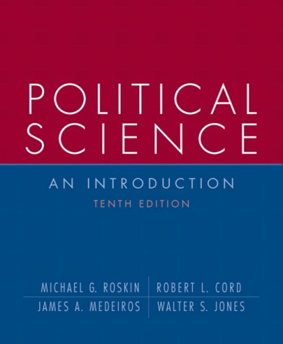 Political Science An Introduction 10th 2008 edition cover