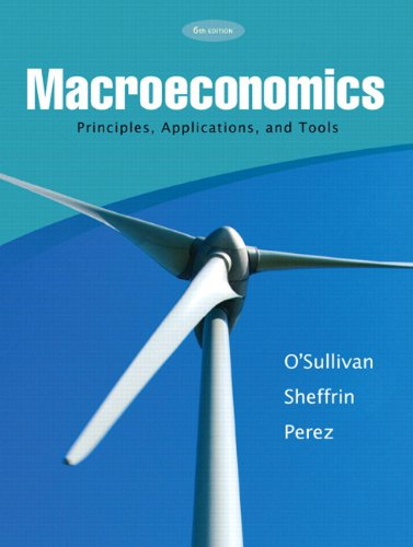 Macroeconomics : Principles, Applications and Tools 6th 2010 edition cover