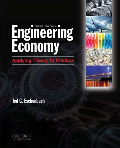 Engineering Economy Applying Theory to Practice 3rd 2010 edition cover