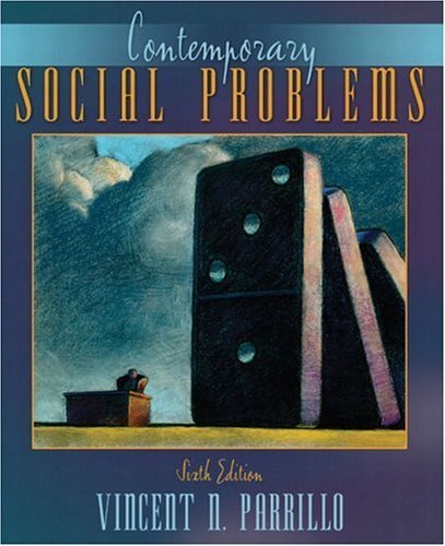 Contemporary Social Problems  6th 2005 (Revised) edition cover