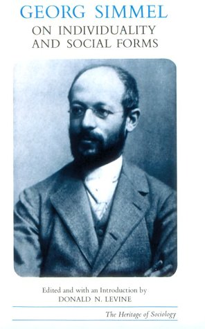 Georg Simmel on Individuality and Social Forms  N/A edition cover